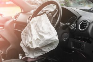 Airbag went off in Car Accident in Miami
