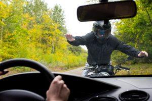 Motorcycle crash in miami