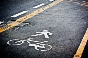 Bicycle Lane Accident