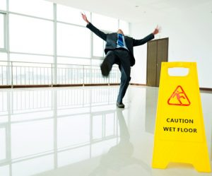 slip and fall in Miami business
